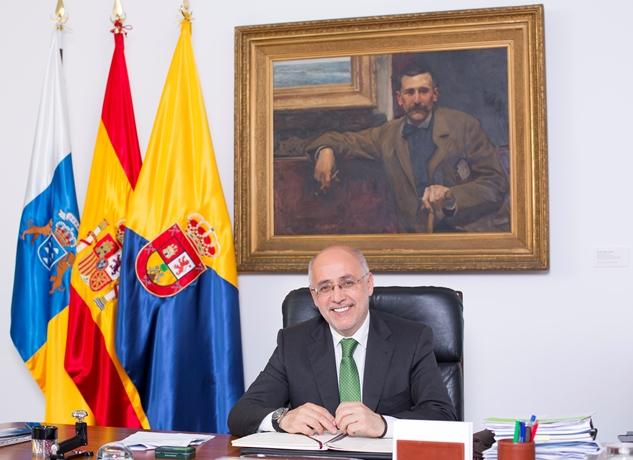 """<p><strong>En el Cabildo de Gran Canaria somos conscientes de la importancia estratégica de este Parque Empresarial y de Aenaga para el proyecto de sostenibilidad y diversificación del modelo económico que defendemos y que englobamos en el concepto de """"ecoisla"""".</strong></p>"""