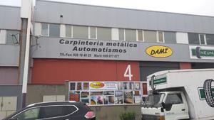 CARPINTERÃÍA METÁLICA Y ALUMINIO DAMI, S.L.